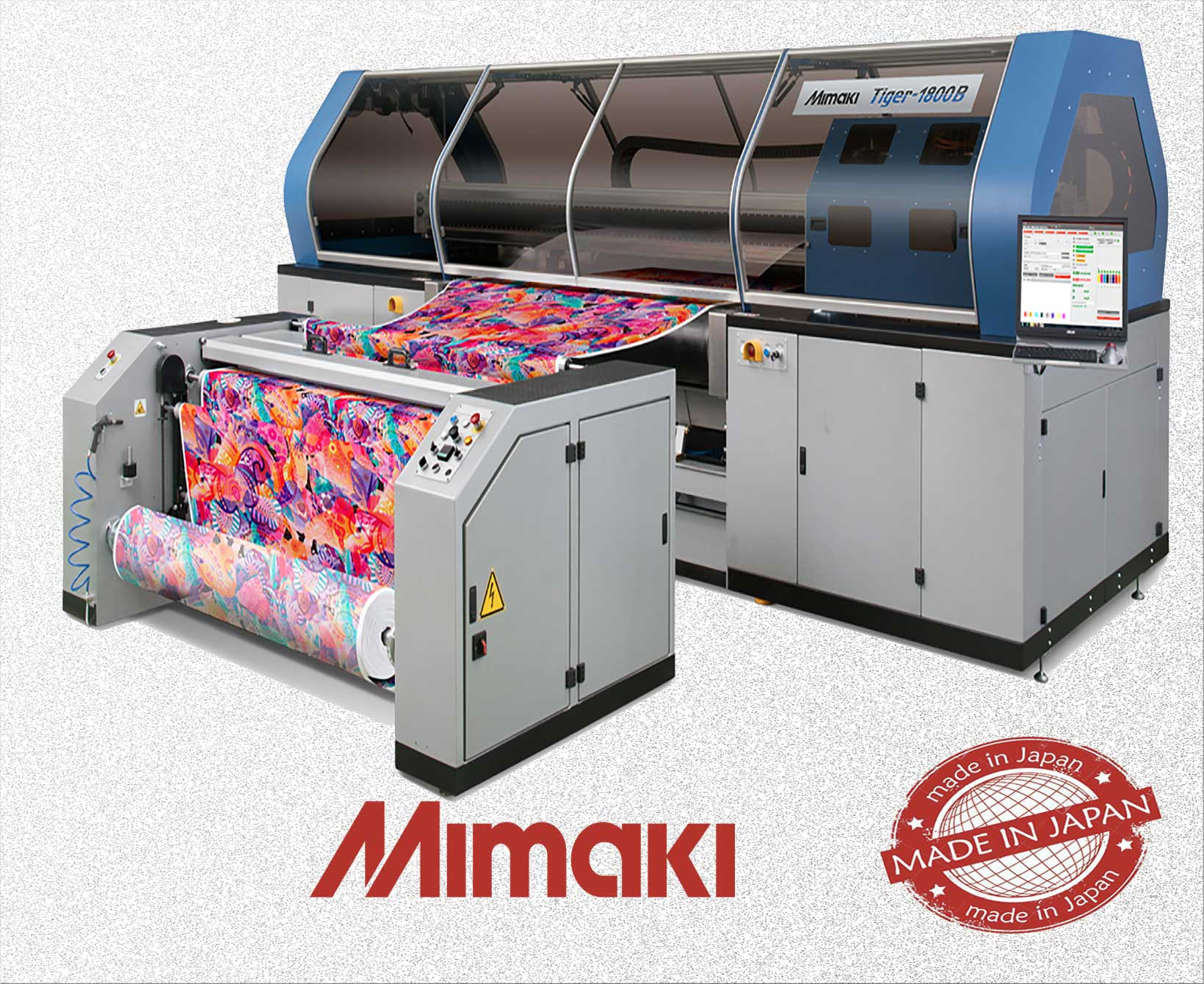 Cloth printing machine | Thebes international